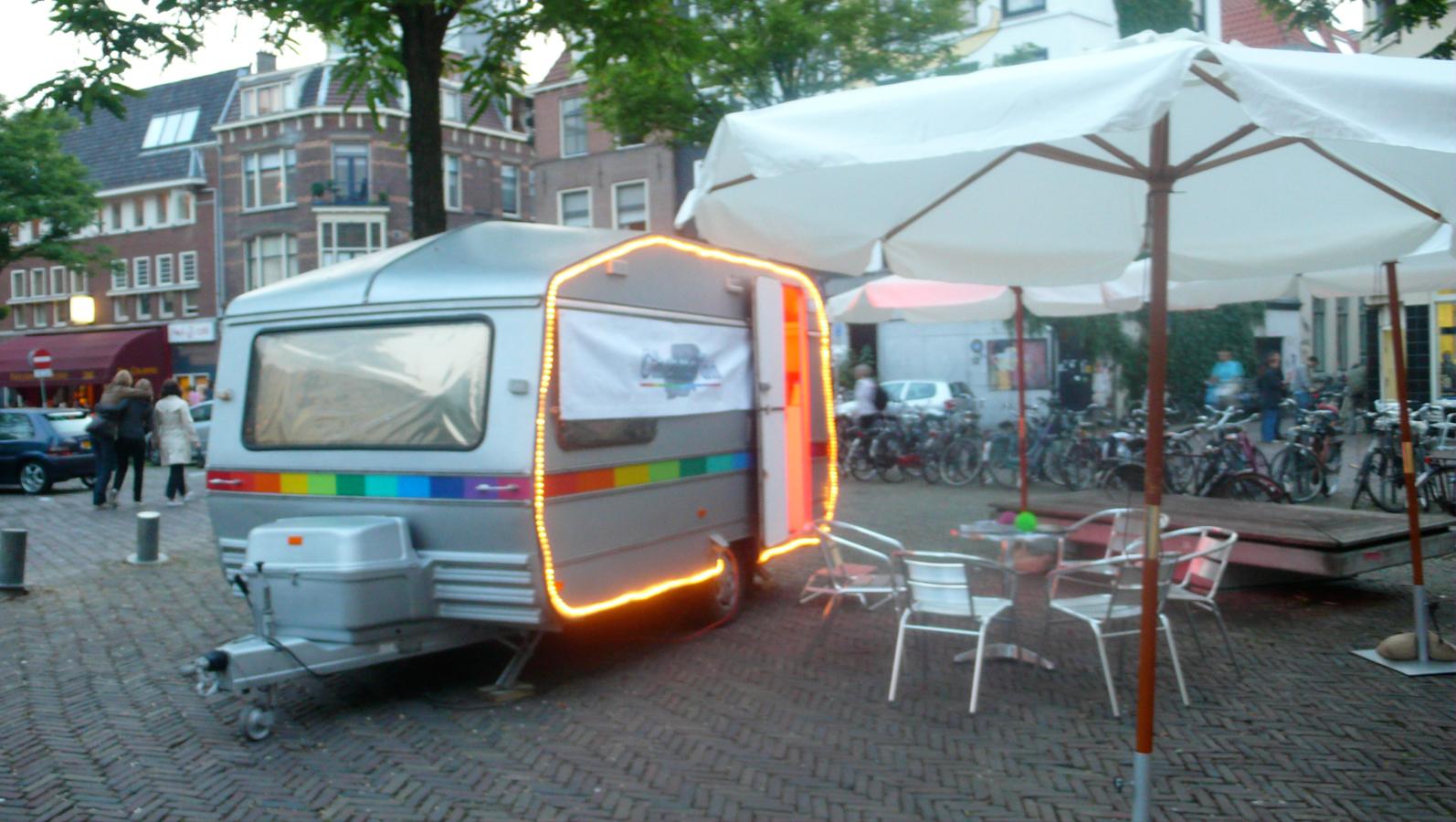 The ChromaVan in Utrech Festival aan de Werft